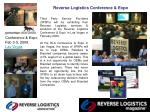 reverse logistics conference expo