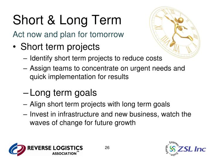 Short & Long Term