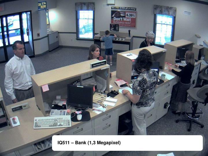 IQ511 – Bank (1,3 Megapixel)