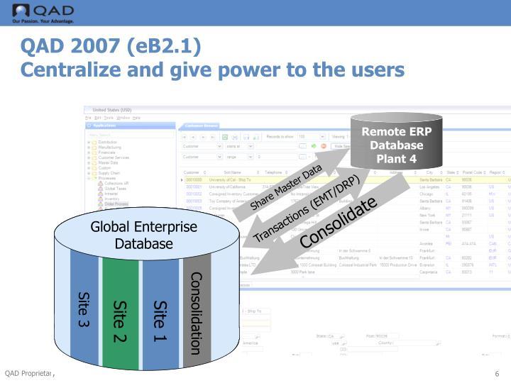 QAD 2007 (eB2.1)