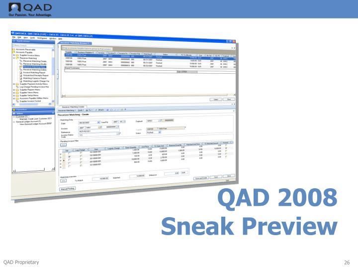 QAD 2008