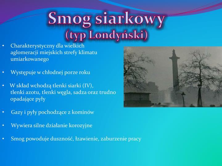 Smog siarkowy
