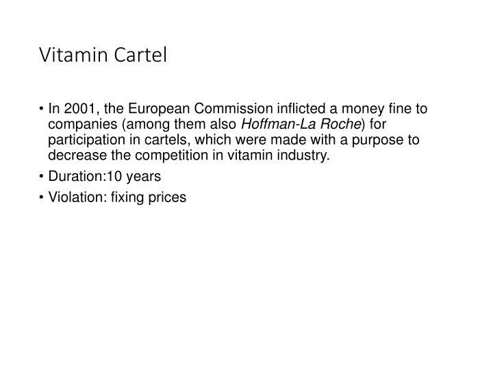 Vitamin Cartel