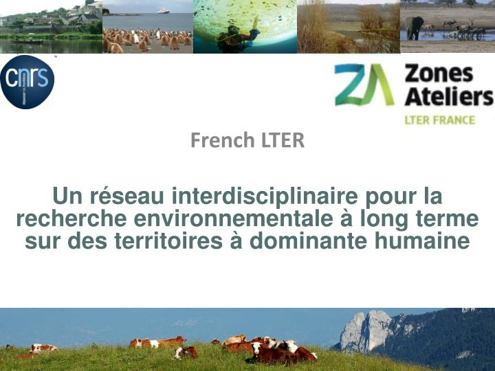 French LTER