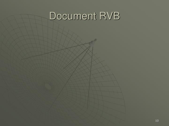 Document RVB