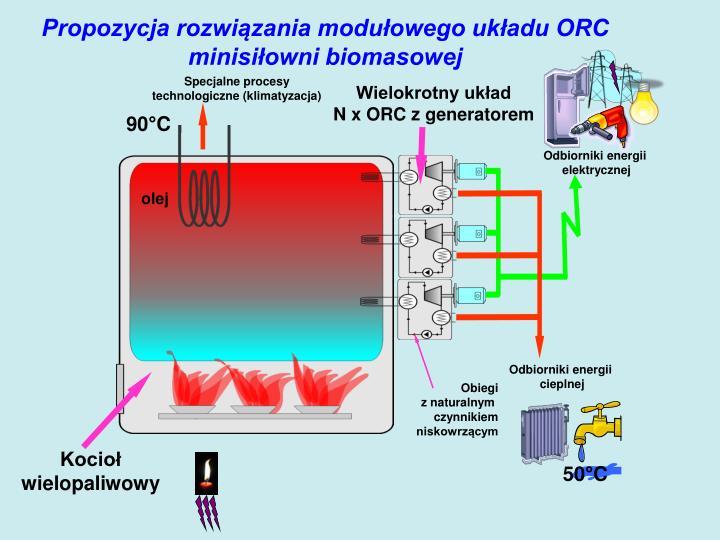 Propozycja rozwiązania modułowego układu ORC