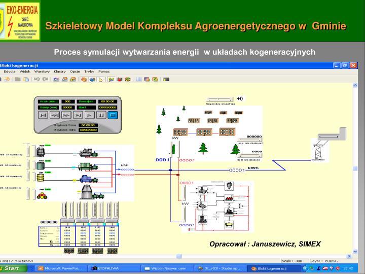 Szkieletowy Model Kompleksu Agroenergetycznego w  Gminie