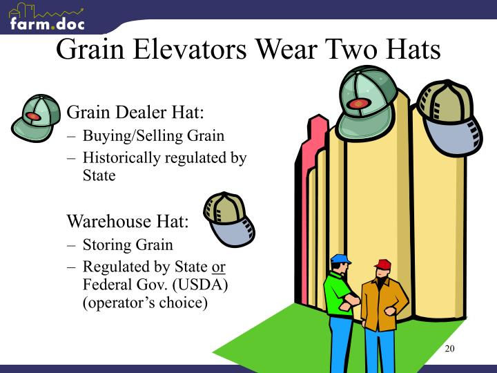 Grain Elevators Wear Two Hats