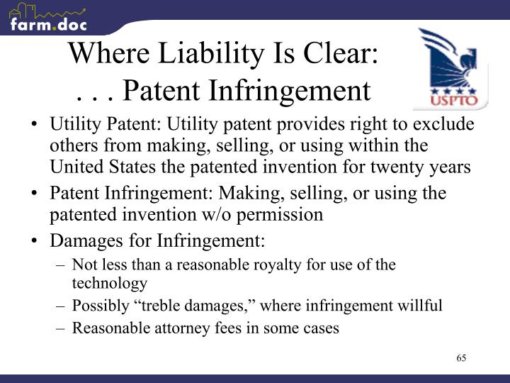 Where Liability Is Clear: