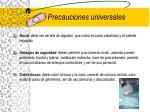 precauciones universales1