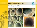properties of pe 80 pe 1003