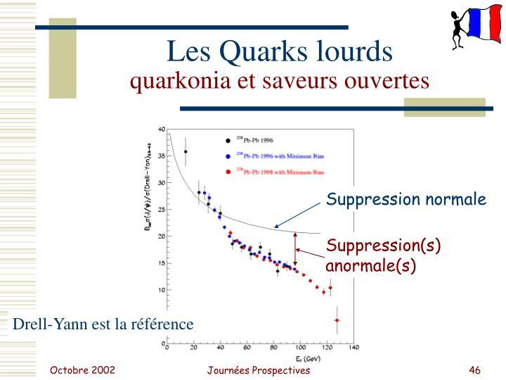 Les Quarks lourds