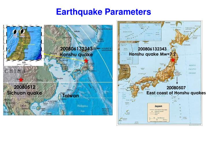 Earthquake Parameters
