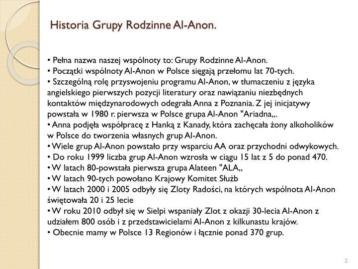 Historia Grupy Rodzinne