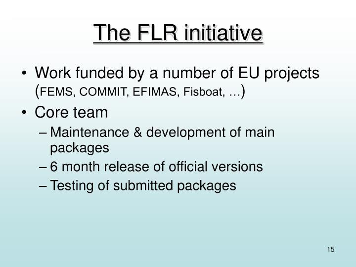 The FLR initiative