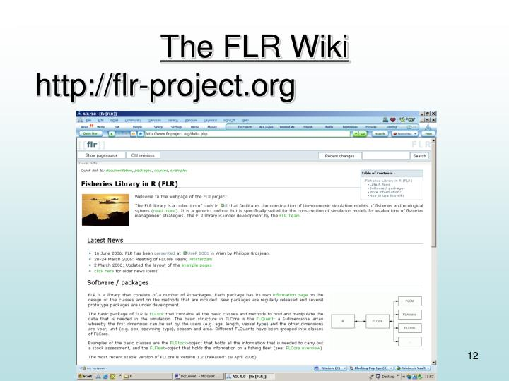The FLR Wiki