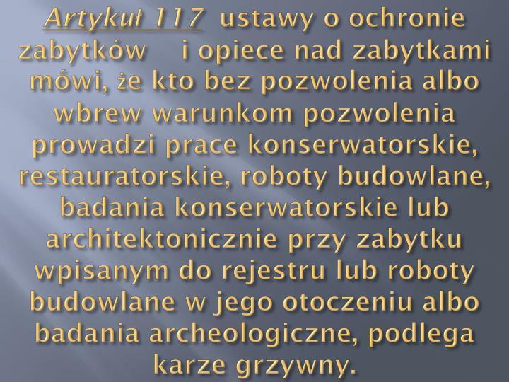 Artykuł 117
