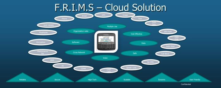 F.R.I.M.S – Cloud Solution