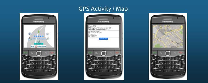 GPS Activity / Map