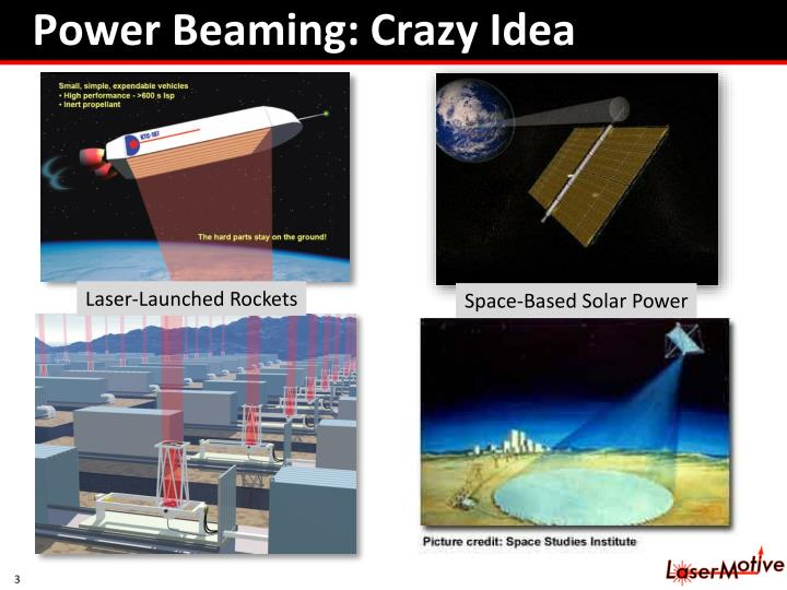 Power Beaming: Crazy Idea