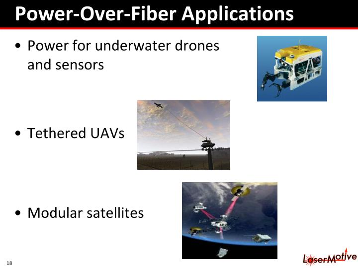 Power-Over-Fiber Applications