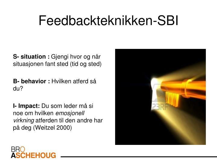 Feedbackteknikken-SBI