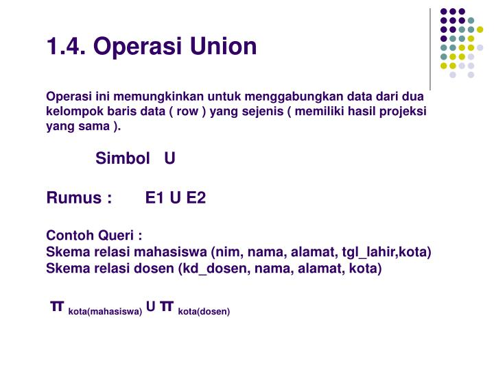1.4. Operasi Union