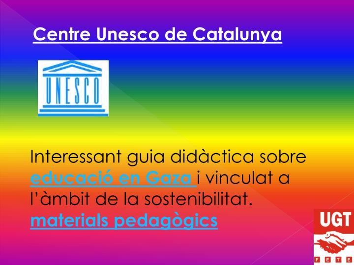 Centre Unesco de Catalunya