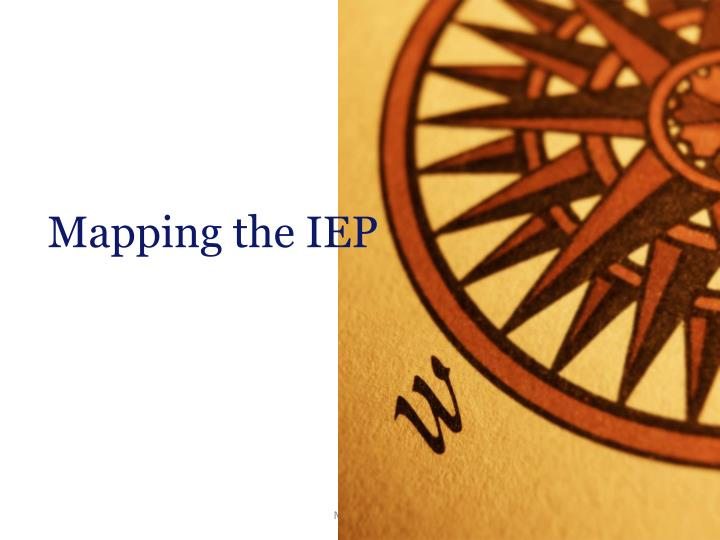 Mapping the IEP