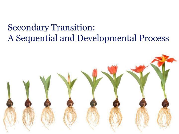 Secondary Transition:
