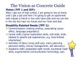 the vision as concrete guide3