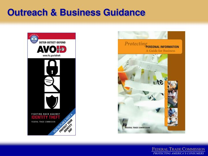 Outreach & Business Guidance