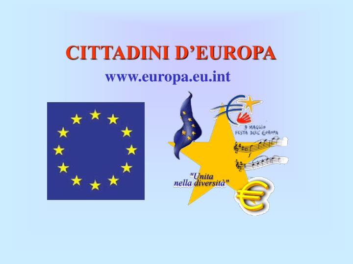 CITTADINI D'EUROPA