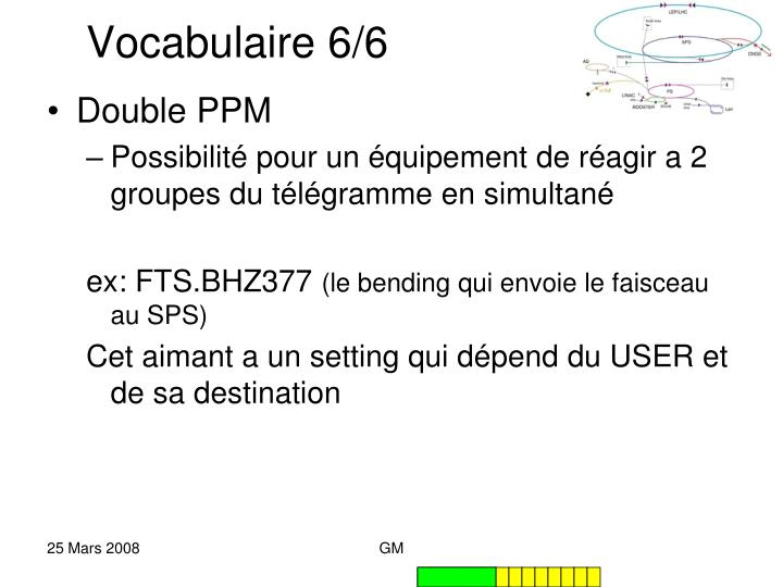 Vocabulaire 6/6