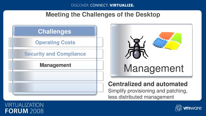 Meeting the Challenges of the Desktop