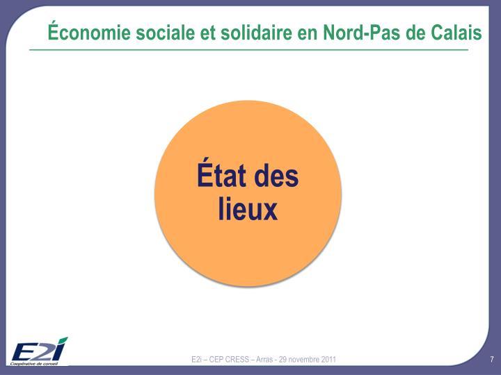 Économie sociale et solidaire en Nord-Pas de Calais