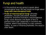 fungi and health