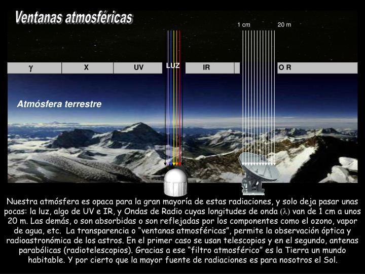 Ventanas atmosfricas