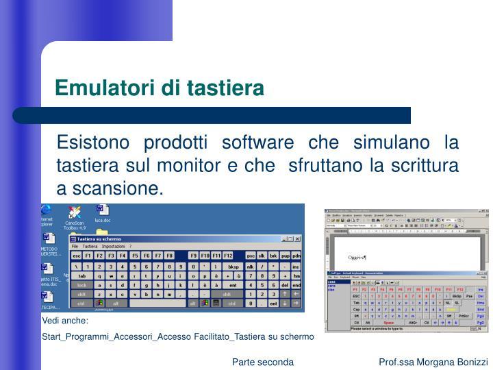 Emulatori di tastiera