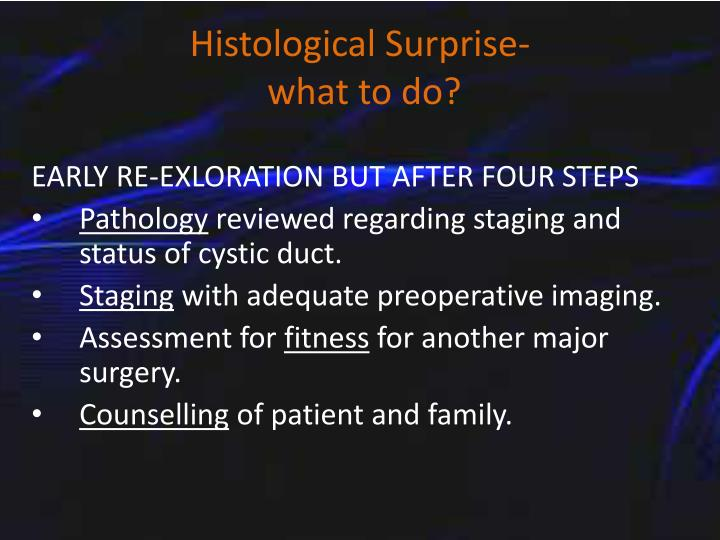 Histological Surprise-