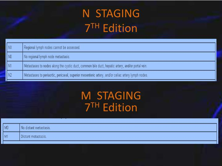 N  STAGING