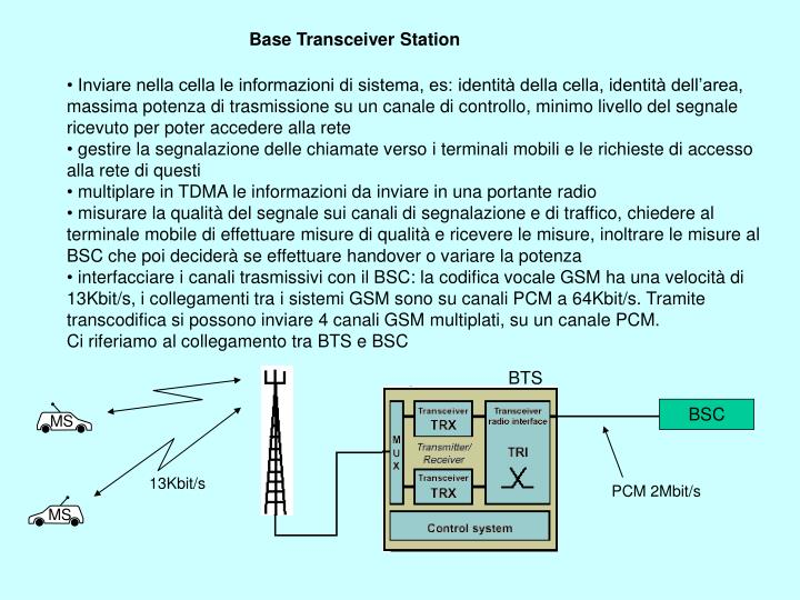 Base Transceiver Station