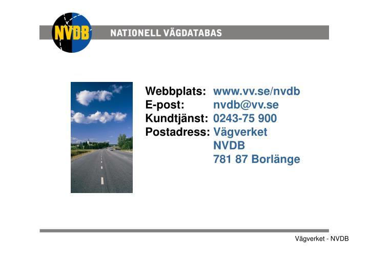 Webbplats: