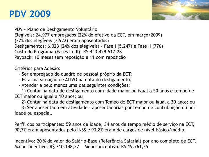 PDV 2009