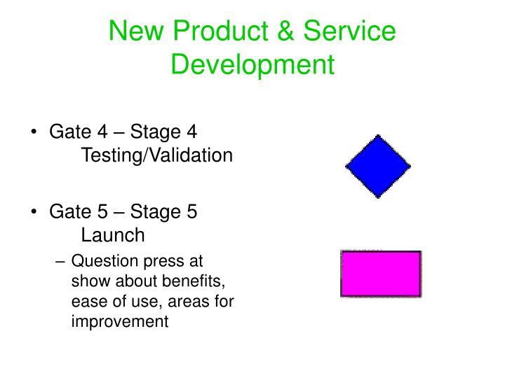 New Product & Service Development