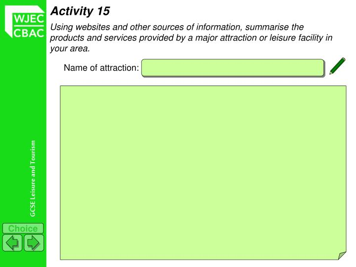 Activity 15