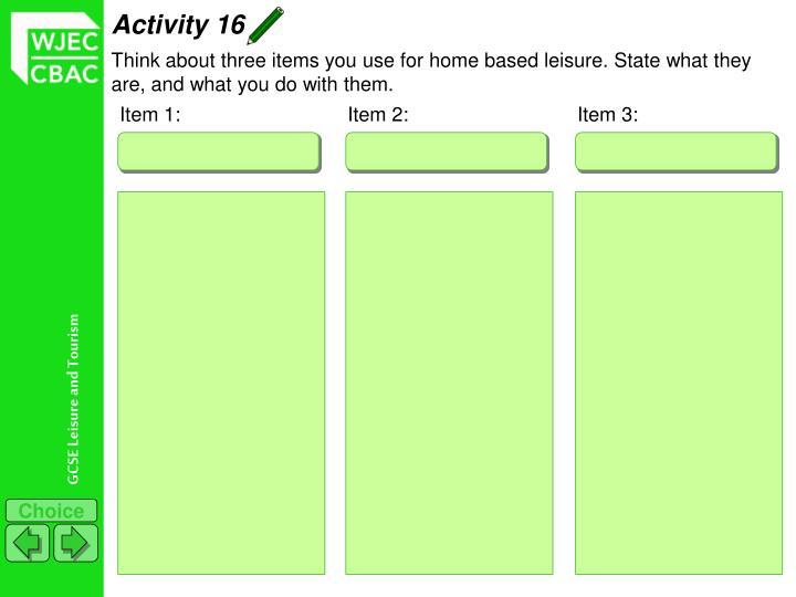 Activity 16