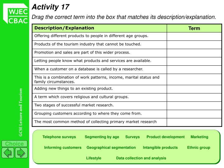 Activity 17