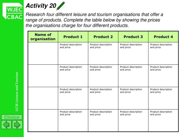 Activity 20