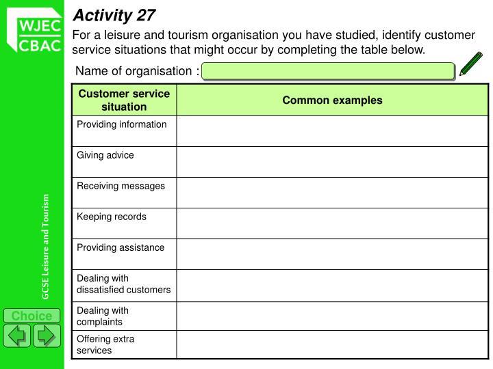 Activity 27